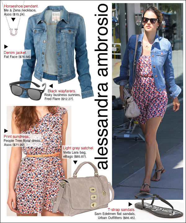alessandra ambrosio style, alessandra ambrosio denim jacket