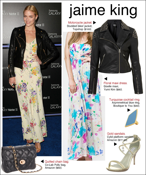jaime king samsung galaxy, jaime king style