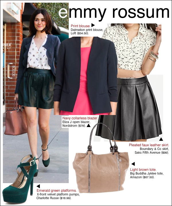 emmy rossum style, emmy rossum shameless, emmy rossum beautiful creatures