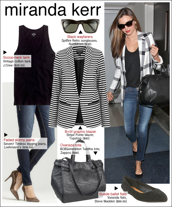 miranda kerr style, miranda kerr jeans, miranda kerr airport
