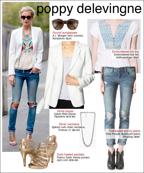 poppy delevingne style, poppy delevingne cara, poppy delevingne street style