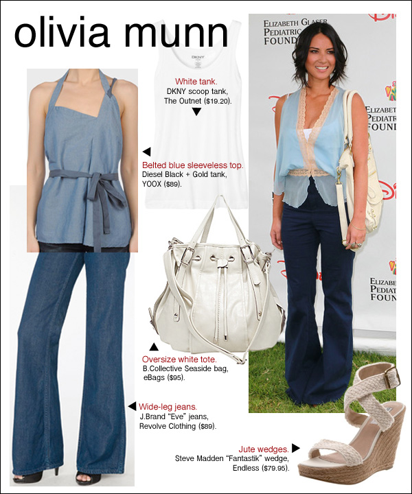 olivia munn elizabeth glaser foundation, olivia munn a time for heroes