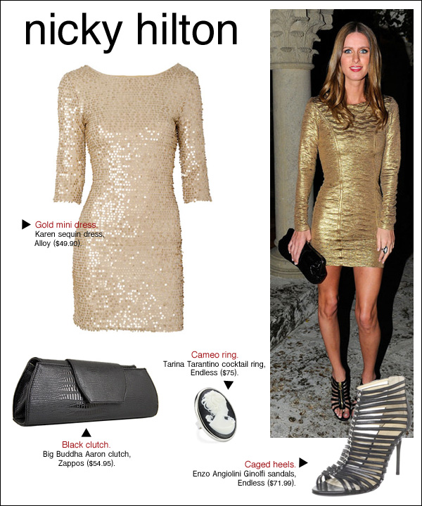 nicky hilton miami, nicky hilton evenings in vogue