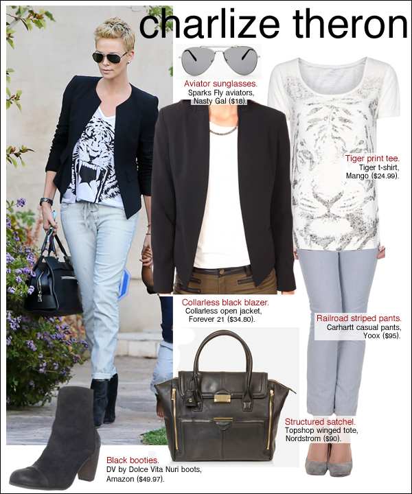 charlize theron style, charlize theron jackson, charlize theron short hair