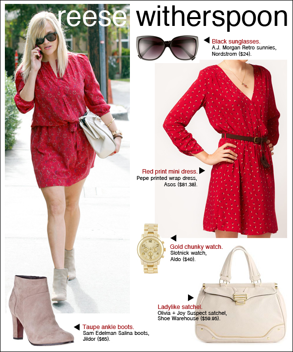 reese witherspoon style, reese witherspoon red dress, reese witherspoon oscars